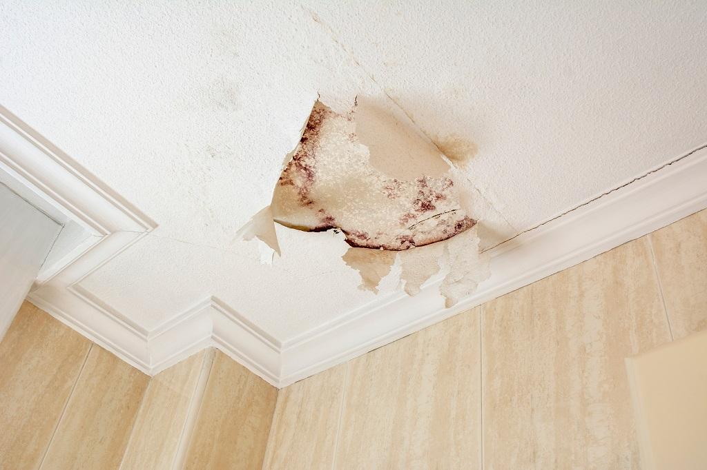 Humedad por condensación superficial interior en techos